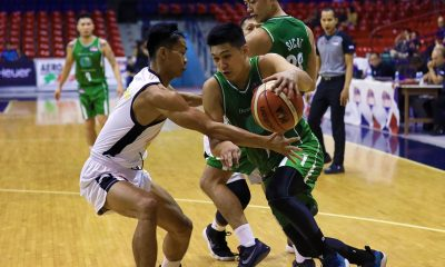 Tiebreaker Times Raymark Matias tows Hazchem to debut win at expense of Nailtalk-Savio Basketball News PBA D-League  RR De Leon Raymark Matias Normel Delos Reyes Nailtalk-Savio Unicorns Marvin Morraga Manuel Torralba John Labrador Hazchem Green Warriors 2019 PBA D-League Second Conference