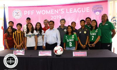 Tiebreaker Times La Salle set to defend PFFWL crown Football News PFF Women's League  UST Women's Football UP Women's Football Tuloy FC Tigers FC Stallion-Hiraya FC Nomands FC Maroons FC Green Archers United FC FEU Women's Football DLSU Women's Football 2019 PFFWL Season