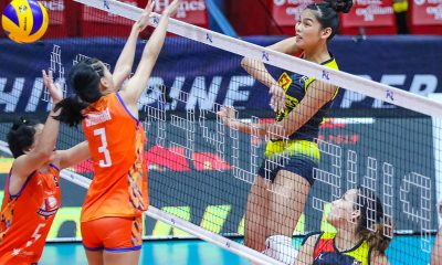 Tiebreaker Times Majoy Baron, F2 Logistics work for 10th straight win, survive Generika-Ayala News PSL Volleyball  Sherwin Meneses Ria Meneses Ramil De Jesus Patty Orendain Majoy Baron Kalei Mau Jamie Lavitoria Generika Drugstore Lifesavers Fiola Ceballos F2 Logistics Cargo Movers Des Cheng Dawn Macandili Ara Galang 2019 PSL Season 2019 PSL All Filipino Conference