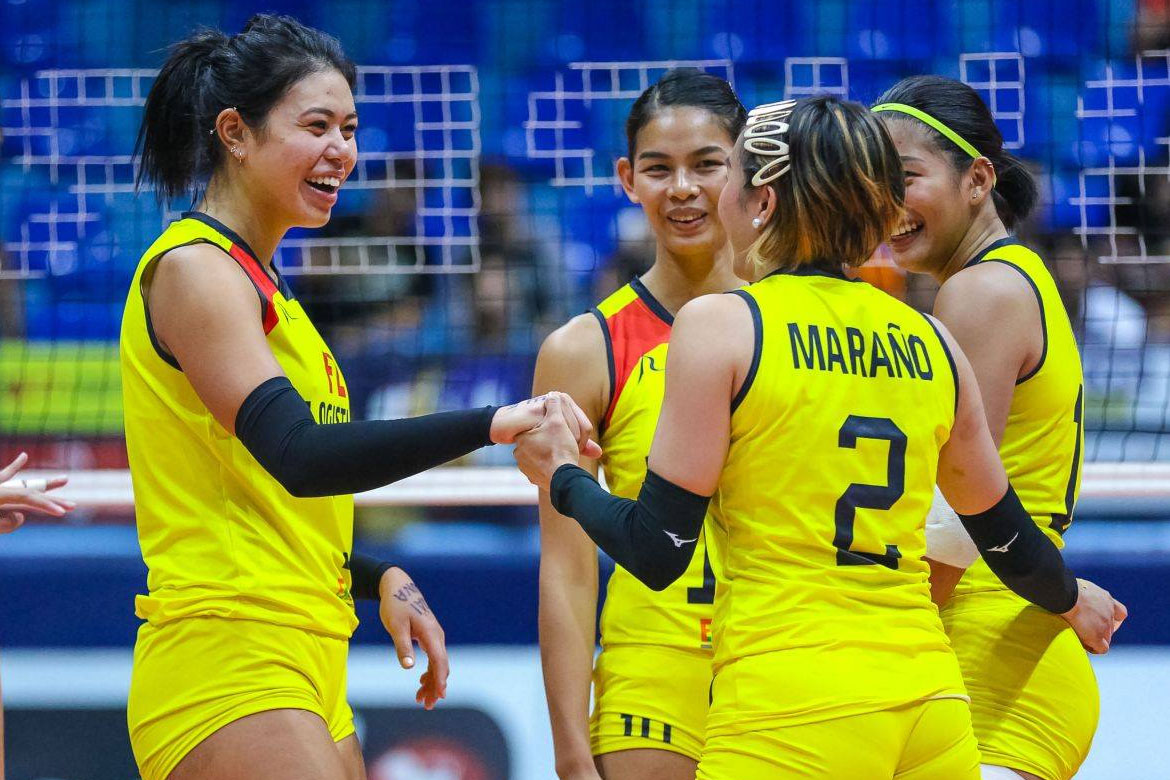 Tiebreaker Times Majoy Baron's Best Middle Blocker plum a dream turned reality News PSL Volleyball  Philippine Women's National Volleyball Team Majoy Baron F2 Logistics Cargo Movers 2019 SEA Grand Prix