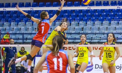 Tiebreaker Times Aby Maraño makes triumphant homecoming as F2 Logistics wallops Marinerang Pilipina News PSL Volleyball  Ron Dulay Ramil De Jesus Michelle Cobb Marinerang Pilipina Kalei Mau F2 Logistics Cargo Movers Ara Galang Aby Marano 2019 PSL Season 2019 PSL All Filipino Conference