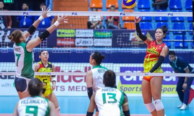 Tiebreaker Times F2 Logistics limits Sta. Lucia to record-low three points, extends streak to eight News PSL Volleyball  Sta. Lucia Lady Realtors Ramil De Jesus Majoy Baron Kalei Mau F2 Logistics Cargo Movers Dawn Macandili Babes Castillo Ara Galang Andrea Marzan 2019 PSL Season 2019 PSL All Filipino Conference