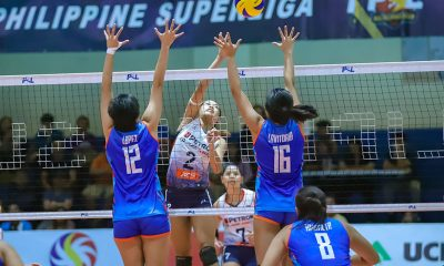 Tiebreaker Times Pons, Palma link up anew, power Petron to sweep of Generika News PSL Volleyball  Sherwin Meneses Shaq delos Santos Rhea Dimaculangan Remy Palma Petron Blaze Spikers Patty Orendain Generika Drugstore Lifesavers Fiola Ceballos Bernadeth Pons 2019 PSL Season 2019 PSL All Filipino Conference