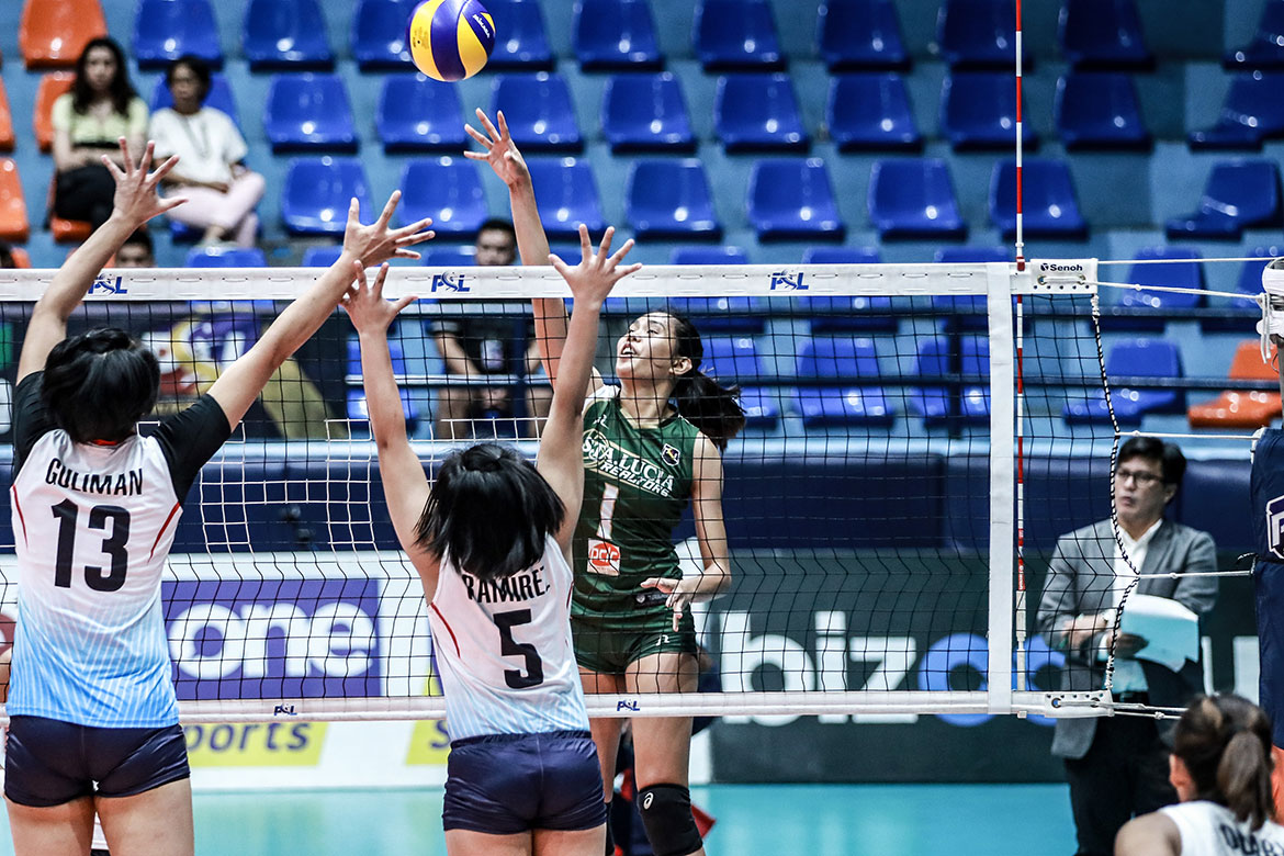 Tiebreaker Times Troncoso game helps Sta. Lucia snap out of 10-game skid News PSL Volleyball  Sta. Lucia Lady Realtors glaudine troncoso Babes Castillo 2019 PSL Season 2019 PSL All Filipino Conference