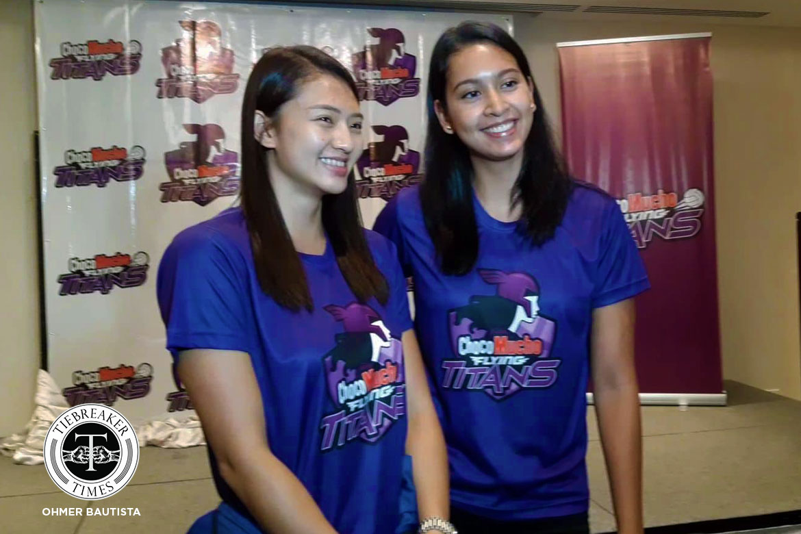 Tiebreaker Times Choco Mucho's Big Three out to make good first impression News PVL Volleyball  Maddie Madayag Kat Tolentino Choco Mucho Flying Titans Bea De Leon 2019 PVL Season 2019 PVL Open Conference