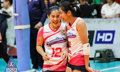 Tiebreaker Times Alyssa Valdez says Creamline can't rest on their laurels against Army News PVL Volleyball  Creamline Cool Smashers Alyssa Valdez 2019 PVL Season 2019 PVL Reinforced Conference