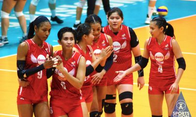 Tiebreaker Times Janisa Johnson rallies error-prone Petro Gazz: 'We're upset but it's not over yet' News PVL Volleyball  Petro Gazz Angels Janisa Johnson Arnold Laniog 2019 PVL Season 2019 PVL Reinforced Conference