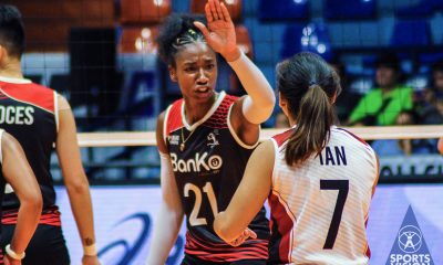 Tiebreaker Times Stix Horton feels 'no pressure' as BanKo faces elimination News PVL Volleyball  Perlas Lady Spikers Jeane Horton 2019 PVL Season 2019 PVL Reinforced Conference