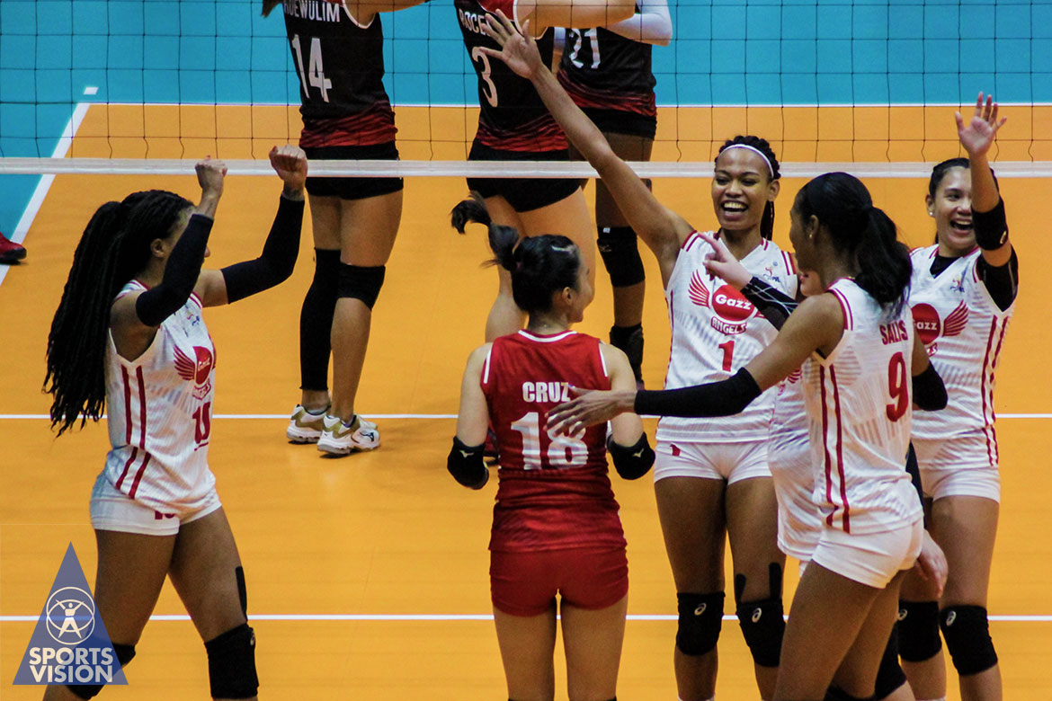 Tiebreaker Times Petro Gazz towers over Stix Horton, BanKo to inch closer to PVL Finals News PVL Volleyball  Wilma Salas Petro Gazz Angels Perlas Lady Spikers Nicole Tiamzon Jeanette Panaga Jeane Horton Janisa Johnson Djanel Cheng Chuewulim Sutadta Cherry Nunag Arnold Laniog Apichat Kongsaiwat 2019 PVL Season 2019 PVL Reinforced Conference