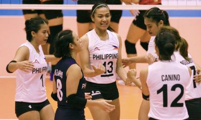 Tiebreaker Times Creamline trio lauds U23's Sealect campaign: 'Nothing to be ashamed of' News PVL Volleyball  Philippine Women's Under-23 National Volleyball Team Michele Gumabao Jia Morado Creamline Cool Smashers Alyssa Valdez 2019 Thailand Open Sealect Tuna Championships