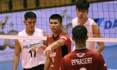 Tiebreaker Times Bryan Bagunas made sure to reintroduce Philippine Volleyball to Thais News Volleyball  Rebisco-Philippines Bryan Bagunas 2019 Thailand Open Sealect Tuna Championships