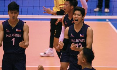 Tiebreaker Times Rebisco-PH's valiant stand not enough to topple Thai Army in Sealect Open semis News Volleyball  Royal Thai Army Rebisco-Philippines RanRan Abdilla Marck Espejo Dante Alinsunurin Bryan Bagunas 2019 Thailand Open Sealect Tuna Championships