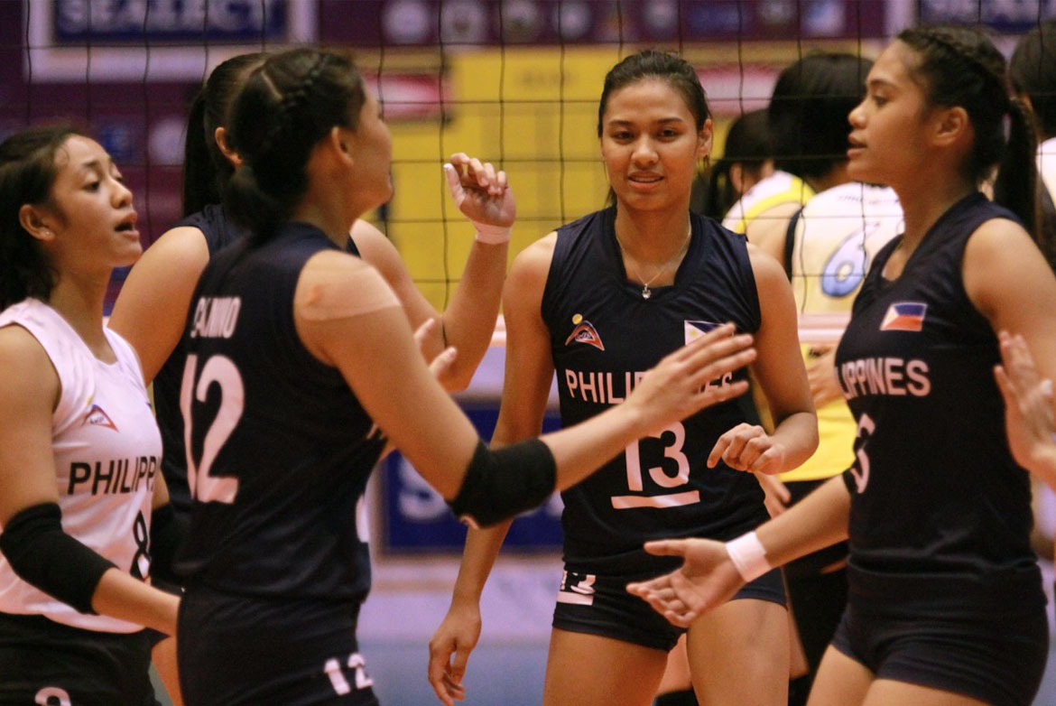 Tiebreaker Times Philippines U23 sent to brink by Okayama Seagulls in Sealect Open News Volleyball  Ysa Jimenez Philippine Women's Under-23 National Volleyball Team Okayama Seagulls Lyann De Guzman Kungfu Reyes Celine Domingo 2019 Thailand Open Sealect Tuna Championships