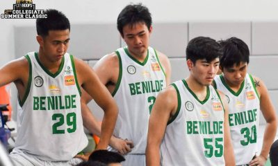Tiebreaker Times Jay Pangalangan, Paolo Javillonar make u-turn from Benilde to Letran Basketball CSB CSJL NCAA News  NCAA Season 95 Seniors Basketball NCAA Season 95 Letran Seniors Basketball Benilde Seniors Basketball