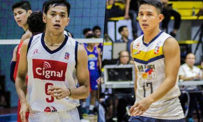 Tiebreaker Times Jessie Lopez, Vince Mangulabnan look to one up each other come Spikers' Turf Finals News Spikers' Turf Volleyball  Vince Mangulabnan Philippine Air Force Jet Spikers Jessie Lopez Cignal HD Spikers 2019 Spikers Turf Season 2019 Spikers Turf Reinforced Conference