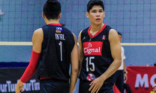 Tiebreaker Times Espejo, Marasigan vow 'more intense' Cignal come Game Two News Spikers' Turf Volleyball  Ysay Marasigan Marck Espejo Cignal HD Spikers 2019 Spikers Turf Season 2019 Spikers Turf Reinforced Conference