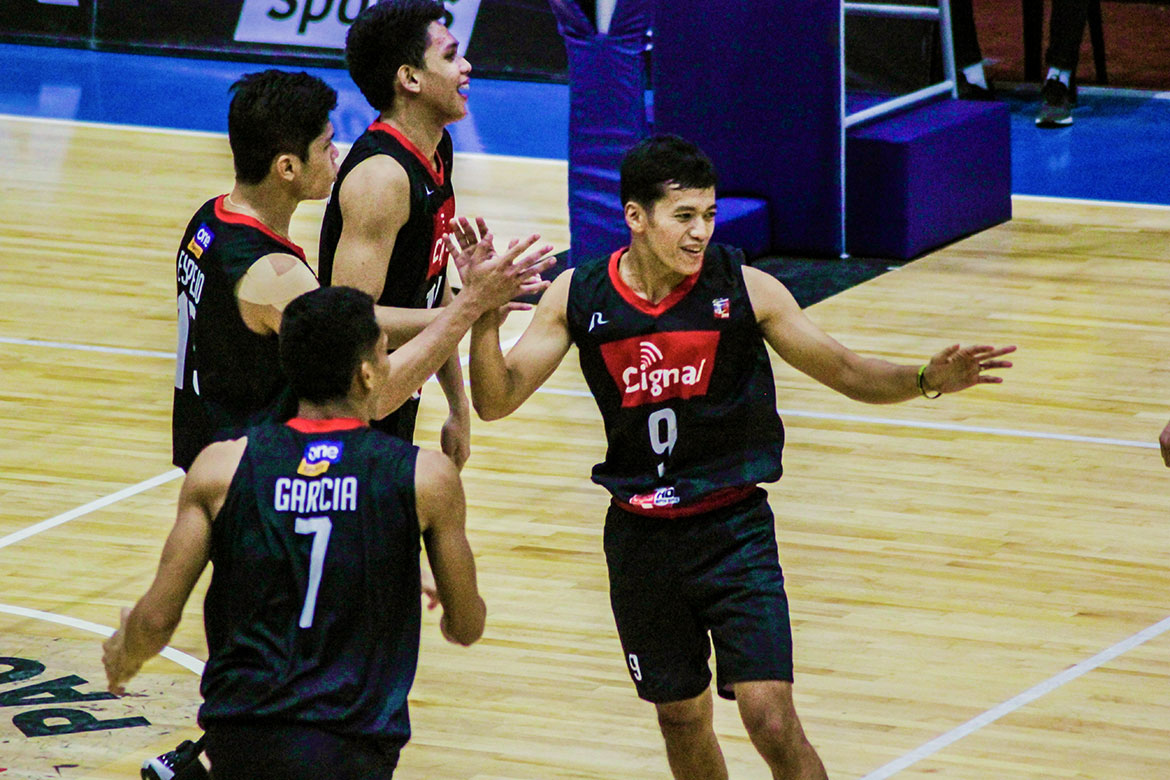 Tiebreaker Times Stellar Vince Mangulabnan deflects credit to Cignal in Game One triumph News Spikers' Turf Volleyball