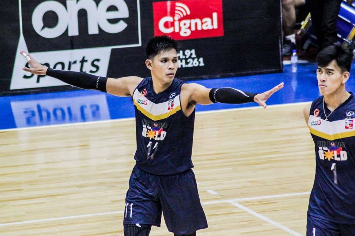 Tiebreaker Times Ran Abdilla at a loss as MVP coronation ends in Air Force defeat News Spikers' Turf Volleyball  RanRan Abdilla Philippine Air Force Jet Spikers 2019 Spikers Turf Season 2019 Spikers Turf Reinforced Conference