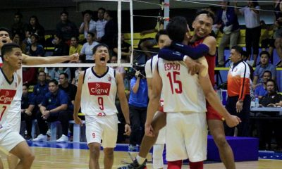Tiebreaker Times Marck Espejo tows Cignal to rematch with Air Force News NU Spikers' Turf Volleyball  Ysay Marasigan Vince Mangulabnan Sta. Elena Wrecking Balls Rex Intal Nico Almendras Marck Espejo Manuel Sumanguid Edward Camposano Dexter Clamor Dante Alinsunurin Cignal HD Spikers 2019 Spikers Turf Season 2019 Spikers Turf Reinforced Conference