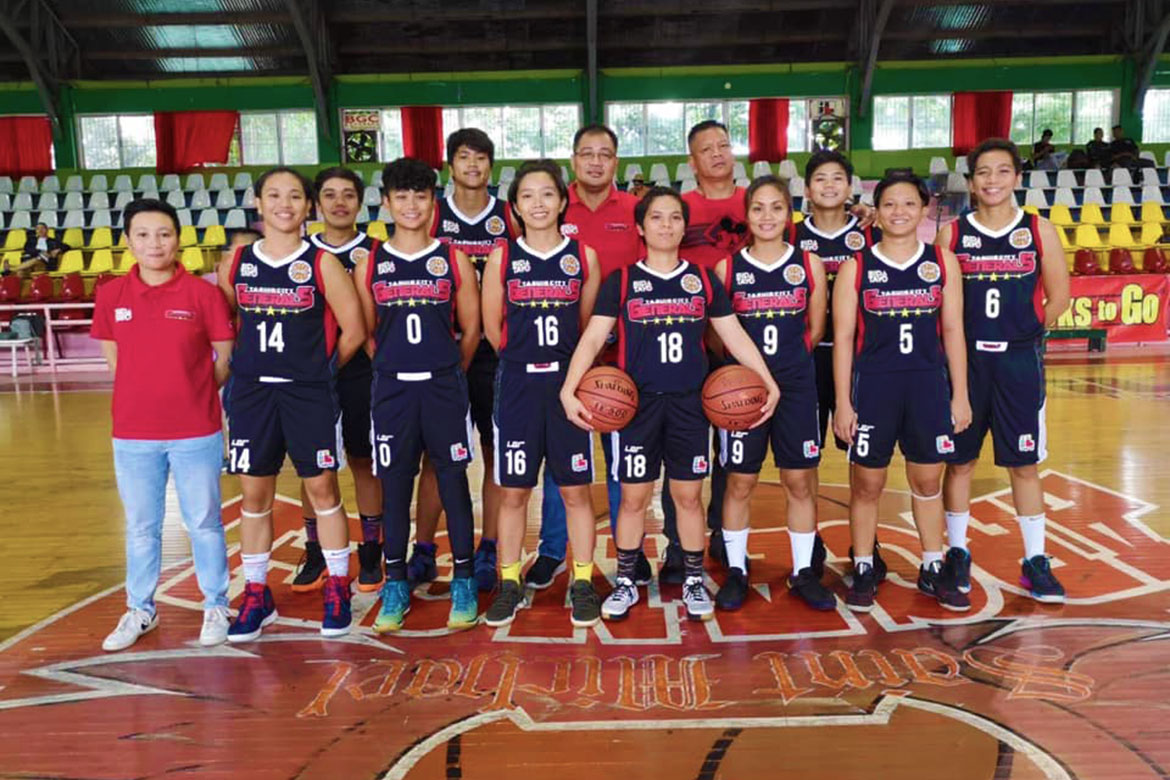 Tiebreaker Times Vangie Soriano powers Taguig Lady Generals to clean 5-0 record Basketball NBL News  Vangie Soriano Trixie Antiquiera Taguig Lady Generals Philippine Navy-Go for Gold Lady Sailors Pampanga Delta Amazons Lhen Flormata Baernadette Mercado 2019 NBL Season