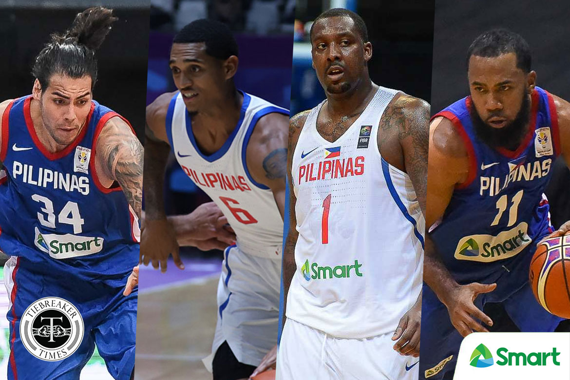 quality design 24036 f8bbe Clarkson, Blatche, Standhardinger, Pringle part of Gilas' 19 ...