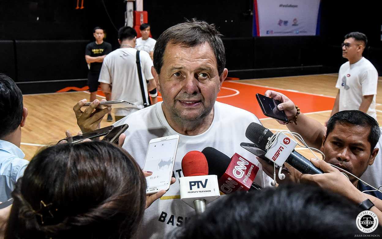 Tiebreaker Times Rajko Toroman believes 'everything is possible' in Gilas' World Cup journey Basketball Gilas Pilipinas News  Rajko Toroman Gilas Pilipinas Men 2019 FIBA World Cup