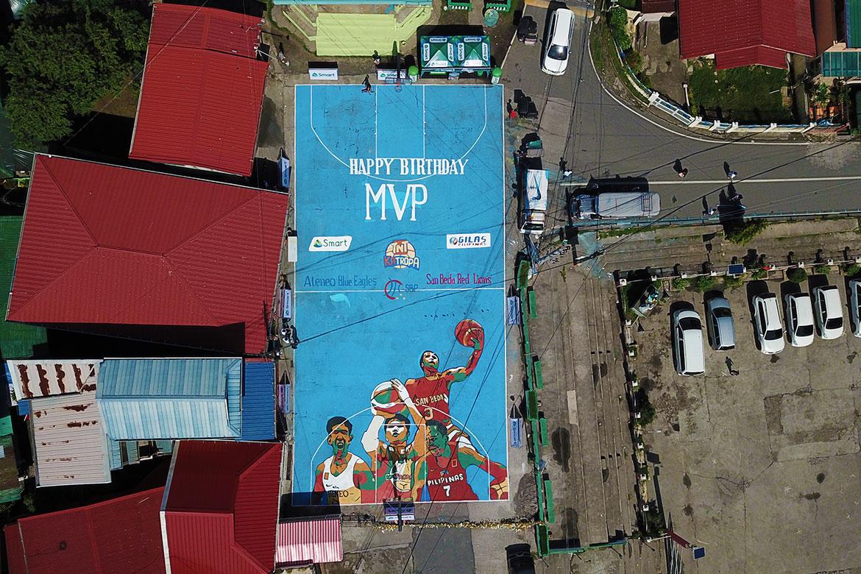 Tiebreaker Times MVP's hometown gives him perfect birthday present ADMU Basketball News PBA SBC  TNT Katropa San Beda Seniors Basketball Samahang Basketbol ng Pilipinas Manny V. Pangilinan Gilas Pilipinas Ateneo Men's Basketball