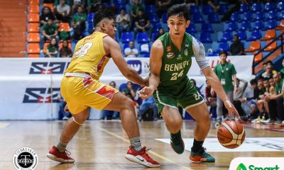 Tiebreaker Times Pasturan, Naboa send San Sebastian spiraling as CSB notches school-best start Basketball CSB NCAA News SSC-R  Yankie Haruna Unique Naboa TY Tang San Sebastian Seniors Basketball RK Ilagan NCAA Season 95 Seniors Basketball NCAA Season 95 Jimboy Pasturan Egay Macaraya Allyn Bulanadi