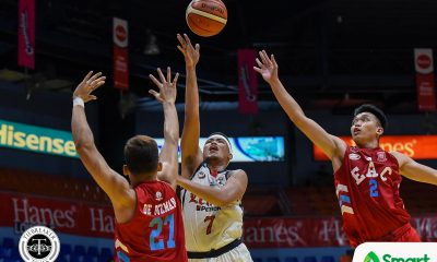 Tiebreaker Times Letran scores come-from-behind win over EAC, seals third seed Basketball CSJL EAC NCAA News  Oliver Bunyi NCAA Season 95 Seniors Basketball NCAA Season 95 Letran Seniors Basketball Larry Muyang JP Maguliano Jethro Mendoza Jerrick Balanza EAC Seniors Basketball Bonnie Tan Bonbon Batiller