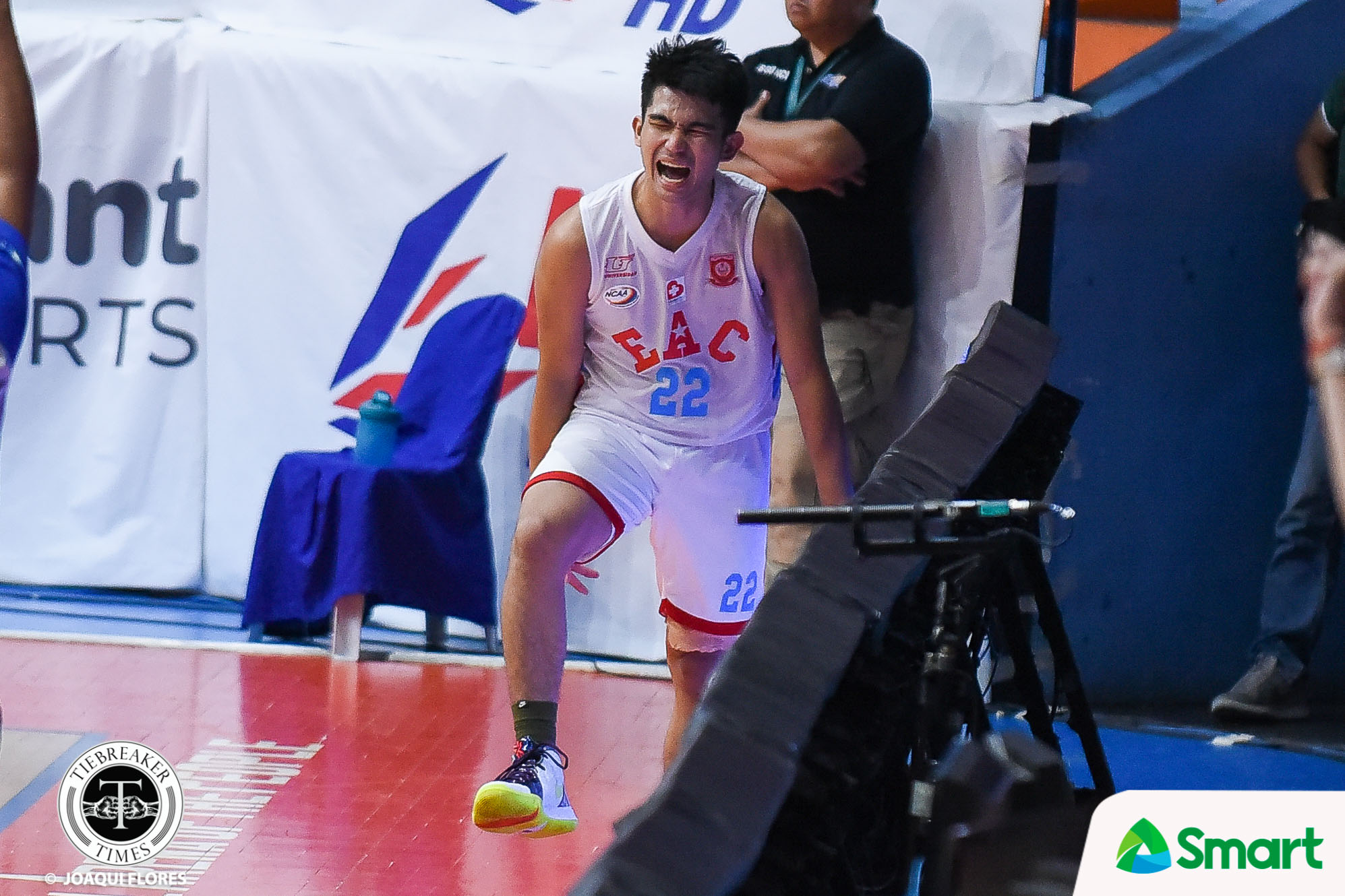 Tiebreaker Times Jethro Mendoza does not allow EAC to suffer another Lyceum heartbreak Basketball EAC NCAA News  Oliver Bunyi NCAA Season 95 Seniors Basketball NCAA Season 95 Jethro Mendoza EAC Seniors Basketball