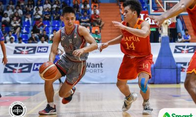 Tiebreaker Times Jaycee Marcelino, Lyceum flaunt experience over young Mapua for bounce back win Basketball LPU MIT NCAA News  Reymar Caduyac Ralph Tansingco Paolo Hernandez Jayson David Jaycee Marcelino Cyril Gonzales