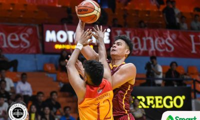 Tiebreaker Times Adamos not pressured to fill Eze's shoes: 'Ipro-prove ko na deserve ko mag-basketball' Basketball NCAA News UPHSD  perpetual seniors baskebtall NCAA Season 95 Seniors Basketball NCAA Season 95 Frankie Lim Ben Adamos