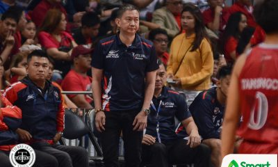Tiebreaker Times Mixed emotions for Bonnie Tan in NCAA coaching return Basketball CSJL NCAA News  Reymar Caduyac NCAA Season 95 Seniors Basketball NCAA Season 95 Letran Seniors Basketball Bonnie Tan