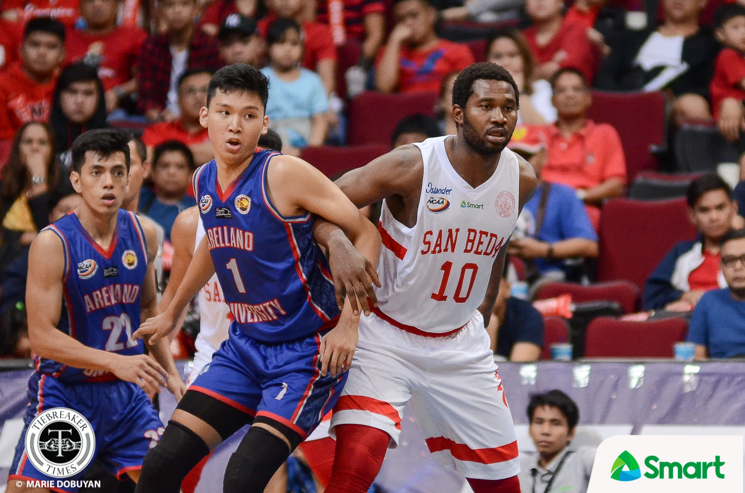 Tiebreaker Times Donald Tankoua on playing out final year 'If the family needs you, you stay' Basketball NCAA News SBC  San Beda Seniors Basketball NCAA Season 95 Seniors Basketball NCAA Season 95 Donald Tankoua Boyet Fernandez