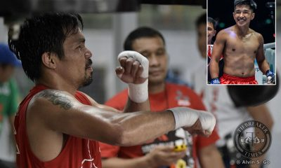 Tiebreaker Times Pacquiao's performance a motivation for 'counted out athletes', says Eustaquio Mixed Martial Arts News ONE Championship  Team Lakay ONE: Dawn of Heroes Manny Pacquiao Geje Eustaquio