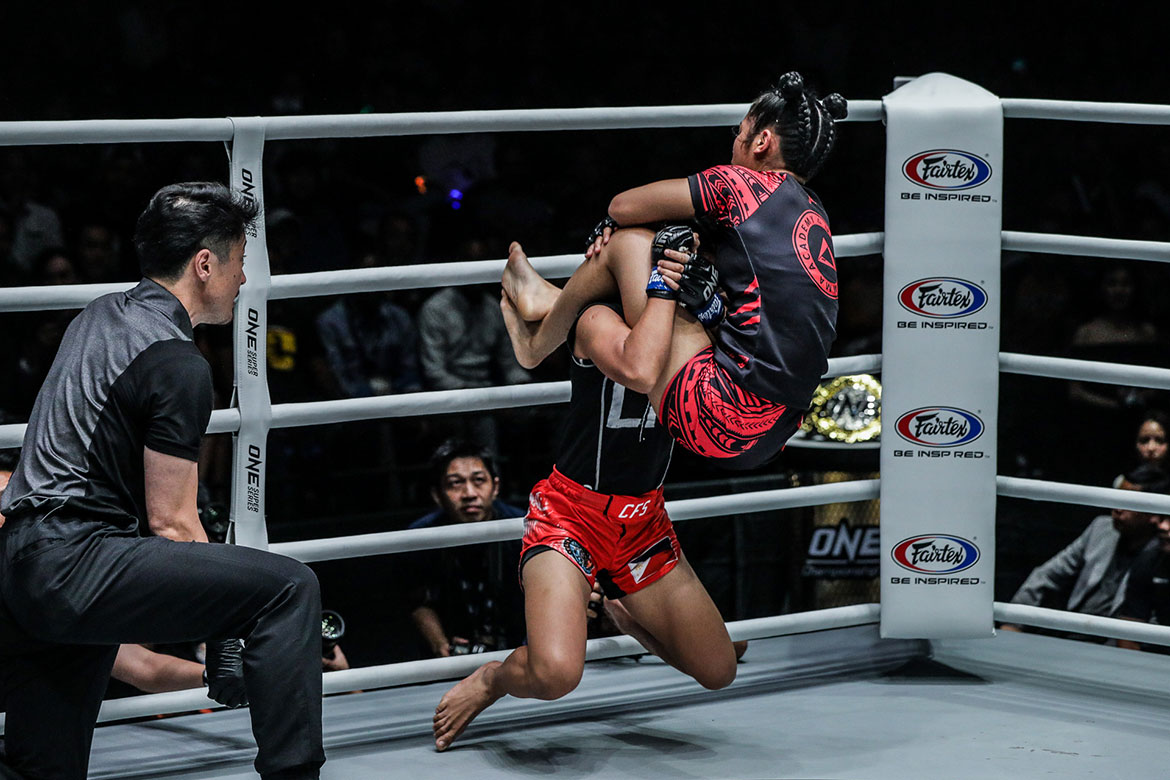 Tiebreaker Times Jomary Torres crumbles against Radzuan in Malaysia Mixed Martial Arts News ONE Championship  ONE: Masters of Destiny Jomary Torres Jihin Radzuan Catalan Fighting System