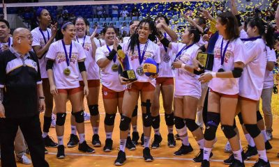 Tiebreaker Times Janisa Johnson delivers Petro Gazz title, brings home added trophy to boot News PVL Volleyball  Petro Gazz Angels Janisa Johnson 2019 PVL Season 2019 PVL Reinforced Conference