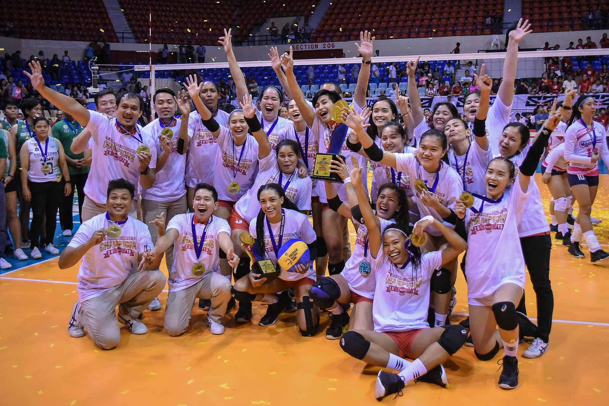 Tiebreaker Times Petro Gazz to represent country in Taipei tourney News PVL Volleyball  Rica Enclona Paneng Mercado Kai Baloaloa Jovie Prado Jonah Sabete Jessey De Leon Jeanette Panaga Djanel Cheng Cienne Cruz Cherry Nunag Arnold Laniog Alyssa Layug 2019 Taichung Bank International Women's Invitational Volleyball Tournament