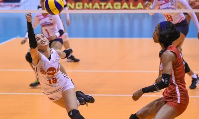 Tiebreaker Times Cienne Cruz overcame adversities to hit stride in Petro Gazz's conquest News PVL Volleyball  Petro Gazz Angels Cienne Cruz 2019 PVL Season 2019 PVL Reinforced Conference