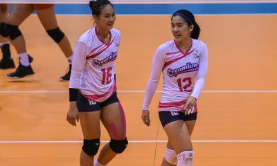 Tiebreaker Times 'Nowhere to go but up' for Creamline, says Jia Morado News PVL Volleyball  Jia Morado Creamline Cool Smashers 2019 PVL Season 2019 PVL Reinforced Conference