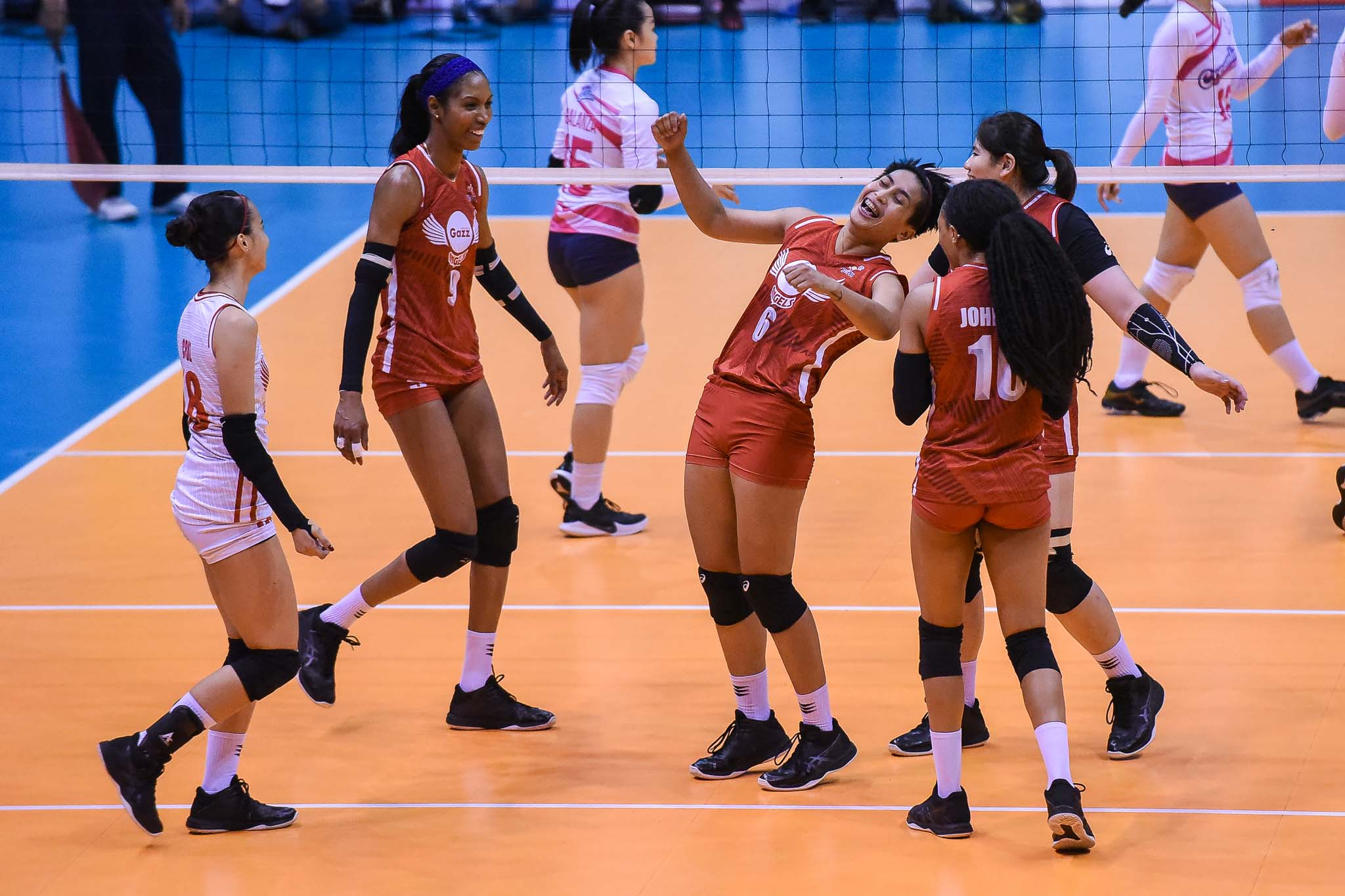 Tiebreaker Times Jeanette Panaga glad to have found 'a family' in Petro Gazz News PVL Volleyball  Petro Gazz Angels Jeanette Panaga 2019 PVL Season 2019 PVL Reinforced Conference