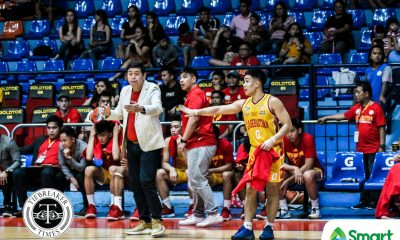 Tiebreaker Times RK Ilagan embraces pressure that comes with San Sebastian captainship Basketball NCAA News SSC-R  San Sebastian Seniors Basketball RK Ilagan NCAA Season 95 Seniors Basketball NCAA Season 95