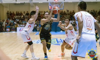 Tiebreaker Times Gab Banal, Bacoor make it rain on Bacolod Basketball MPBL News  Rizal Crusaders Quezon City Capitals Pao Javelona Michael Mabulac Michael Canete Mark Pangilinan Mark Benitez Mac Tallo Jett Vidal Imus Bandera Gab Banal Batangas City-Tanduay Athletics Bacoor Strikers Bacolod Masters Aaron Black 2019-20 MPBL Lakan Cup