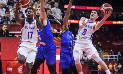 Tiebreaker Times Young guns CJ Perez, Robert Bolick provide silver-lining for Gilas 2019 FIBA World Cup Qualifiers Basketball Gilas Pilipinas News  Yeng Guiao Robert Bolick Kiefer Ravena Gilas Pilipinas Men CJ Perez 2019 FIBA World Cup