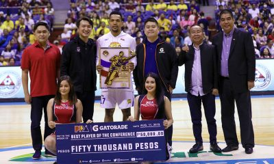 Tiebreaker Times Jayson Castro hailed with fifth BPC Basketball News PBA  TNT Katropa PBA Season 44 Jayson Castro 2019 PBA Commissioners Cup