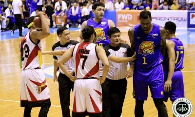 Tiebreaker Times Chris Ross on helping Terrence Jones get up: 'I'm still a nice guy' Basketball News PBA  Terrence Jones San Miguel Beermen PBA Season 44 Chris Ross 2019 PBA Commissioners Cup