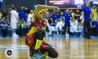 Tiebreaker Times Besides crown, Arwind Santos now has peace of mind after Jones accepts apology Basketball News PBA  San Miguel Beermen PBA Season 44 Arwind Santos 2019 PBA Commissioners Cup