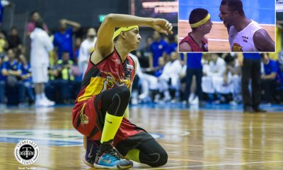 Tiebreaker Times Arwind Santos plays down Jones' shout: 'Pina-amoy lang niya yung hininga niya' Basketball News PBA  Terrence Jones San Miguel Beermen PBA Season 44 Arwind Santos 2019 PBA Commissioners Cup
