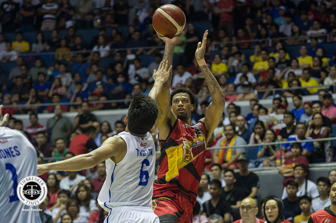 Tiebreaker Times McCullough not concerned about Best Import: 'I'm just here to win a championship' Basketball News PBA  San Miguel Beermen PBA Season 44 Chris McCullough 2019 PBA Commissioners Cup