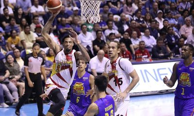 Tiebreaker Times Chris McCollough powers comeback, lifts San Miguel to 3-2 lead over TNT Basketball News PBA  Troy Rosario TNT Katropa Terrence Romeo Terrence Jones San Miguel Beermen Roger Pogoy PBA Season 44 Leo Austria June Mar Fajardo Jayson Castro Chris McCullough Bong Ravena 2019 PBA Commissioners Cup